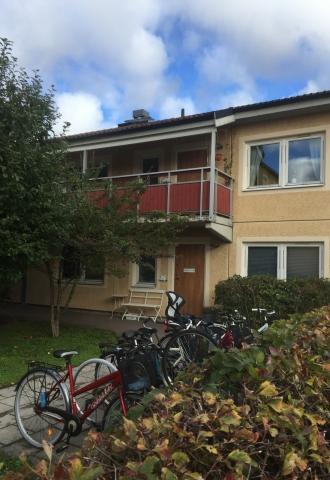 Loftgångsdörr BRF Eriksgatan, Uppsala