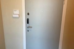 BRF Tunavallen säkerhetsdörr Prodoor R41, med Yale Doorman